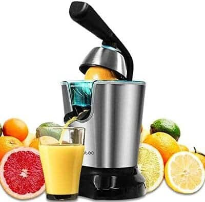 Exprimidor de naranjas electrico Cecotec Zitrus PowerAdjust 600 Black