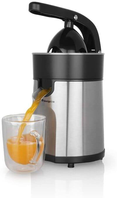 Exprimidor de zumo eléctrico Orbegozo EP 4100