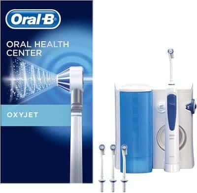 Irrigador Bucal Oral-B con tecnología Oxyjet de Braun