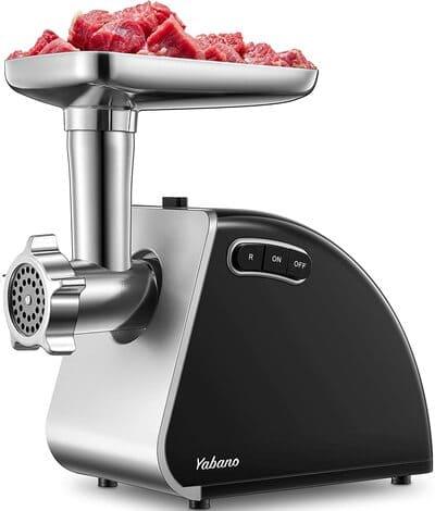 Picadora de carne eléctrica Yabano 1300W