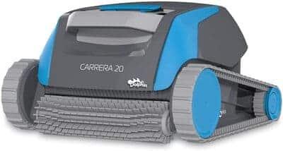 Robot limpiafondos de piscina automático Dolphin Carrera 20