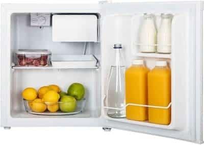 Minibar frigorífico pequeño Hisense RR55D4AW1