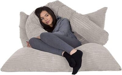 Puff gigante tipo cama XL Lounge Pug