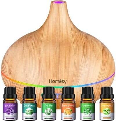 Difusor de aceites esenciales Homasy