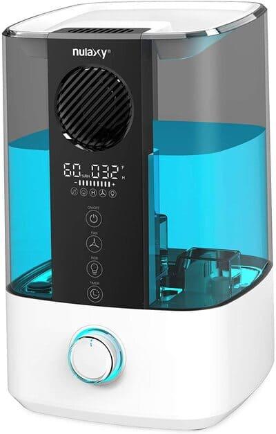 Humidificador ultrasónico con ventilador NULAXY