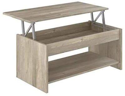 Mesa con balda inferior elevable Movian Aggol Modern