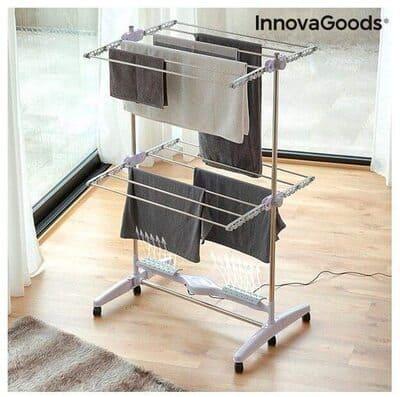Tendedero eléctrico con flujo de aire InnovaGoods Breazy