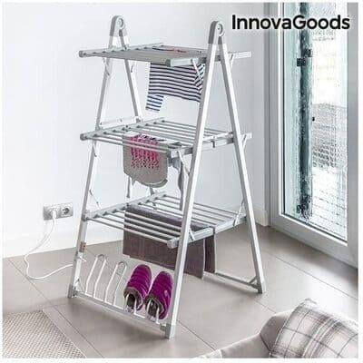 Tendedero eléctrico en escalera InnovaGoods