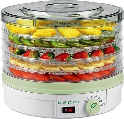 Deshidratador de frutas y verduras Beper