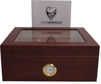 Humidor de puros con humidificador Classic Desk Germanus