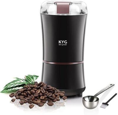 Molinillo de café para granos, semillas y especias KYG