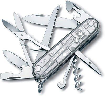 Navaja suiza multiusos Huntsman Silvertech de Victorinox