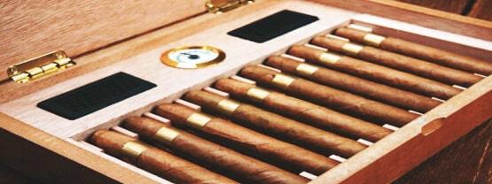 humidor de puros