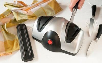 mejores afiladores de cuchillos electricos