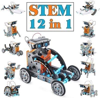 Kit de robot par niños Solar Dreamy Cubby Stem 12 en 1