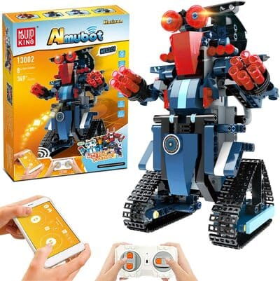 Kit de robótica Stem de 349 piezas para niños
