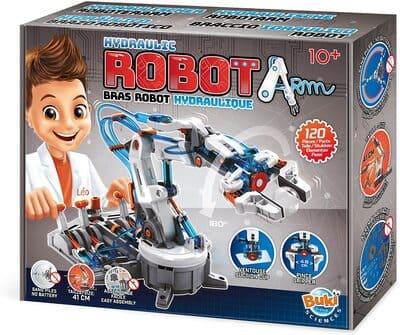 Kit de robótica hidráulica para niños Buki France