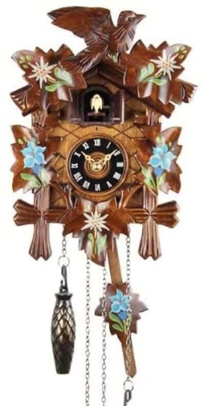 Reloj de cuco con mecanismo de cuarzo marca Eble