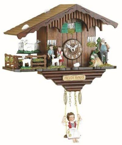 Reloj de cuco con miniatura de la Selva Negra Trenkle Kuckulino
