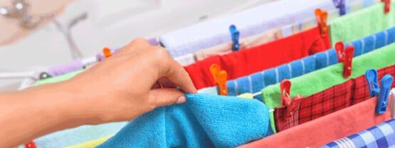 ¿Cómo secar la ropa en casa durante el invierno?