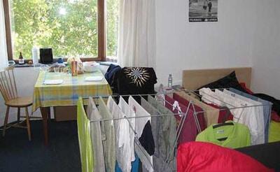 secar ropa dentro de casa en invierno